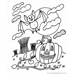 Halloween21 Free Coloring Page for Kids