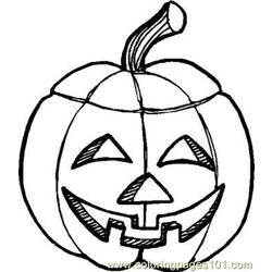 Kids Halloween  Free Coloring Page for Kids