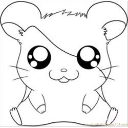 Hamtaro Step 5 coloring page