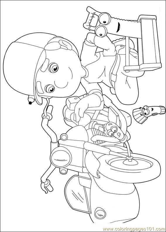 Handy Manny 01 Coloring Page