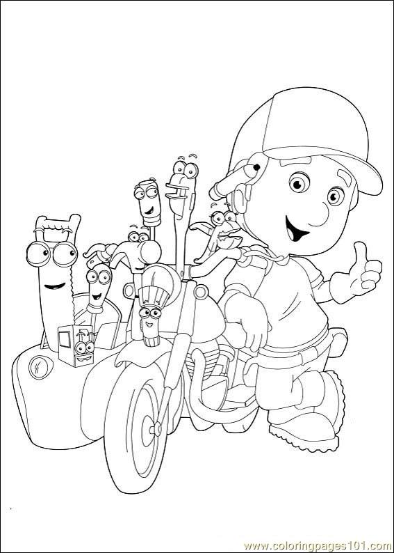 Handy Manny 07 Coloring Page