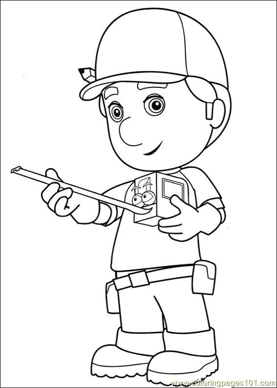 Handy Manny 14 Coloring Page