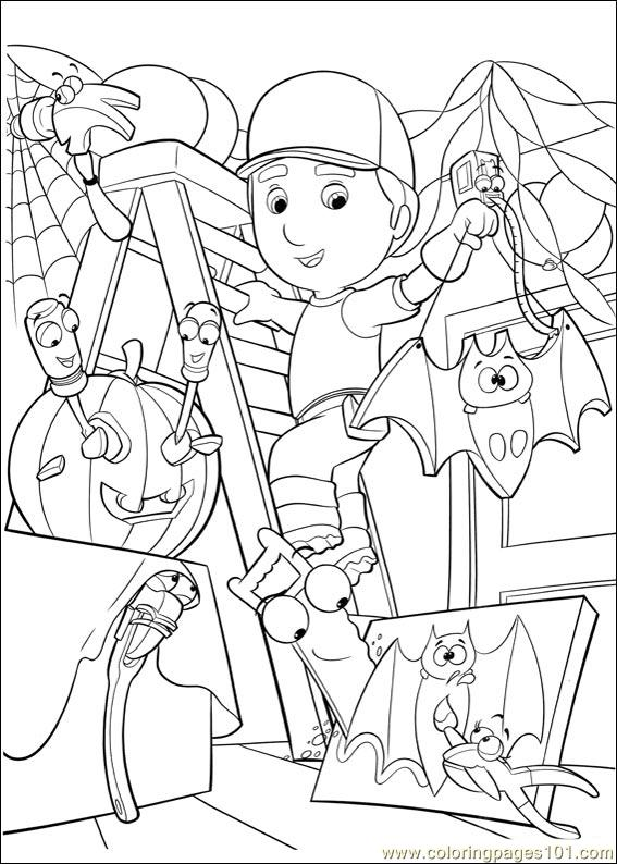 Handy Manny 16 Coloring Page