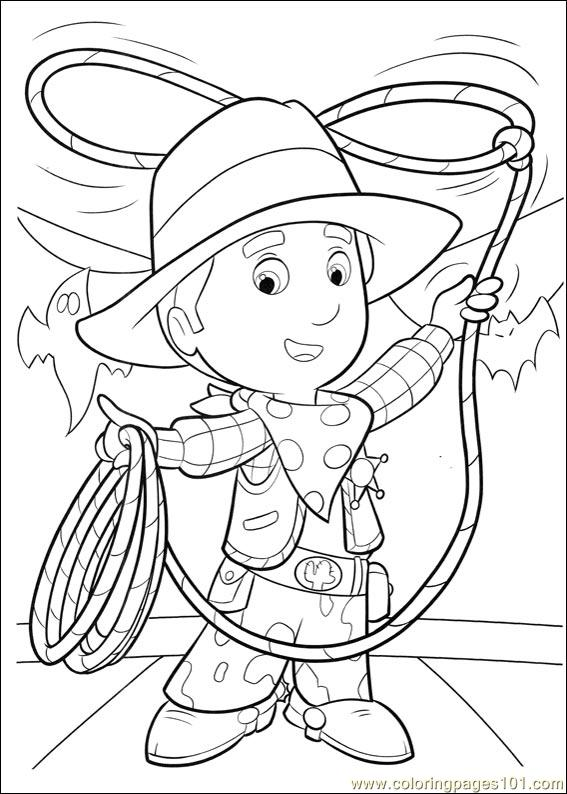 Handy Manny 17 Coloring Page