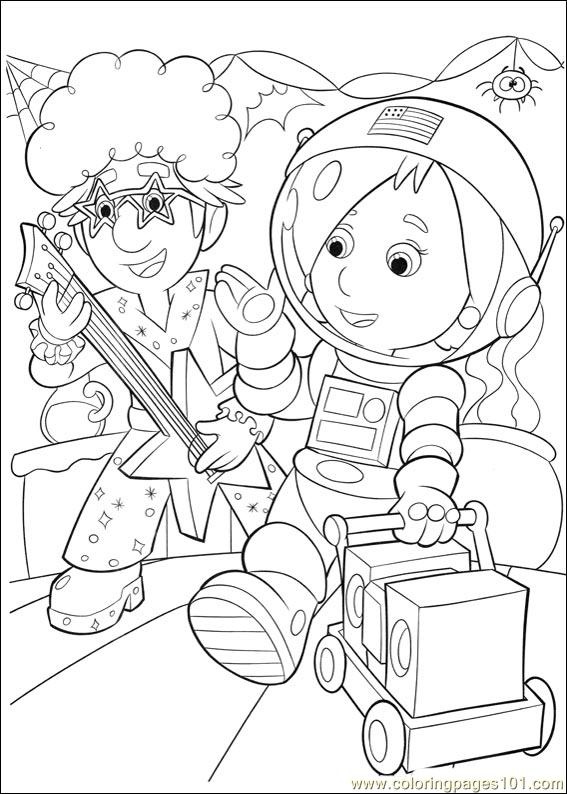 Handy Manny 21 Coloring Page