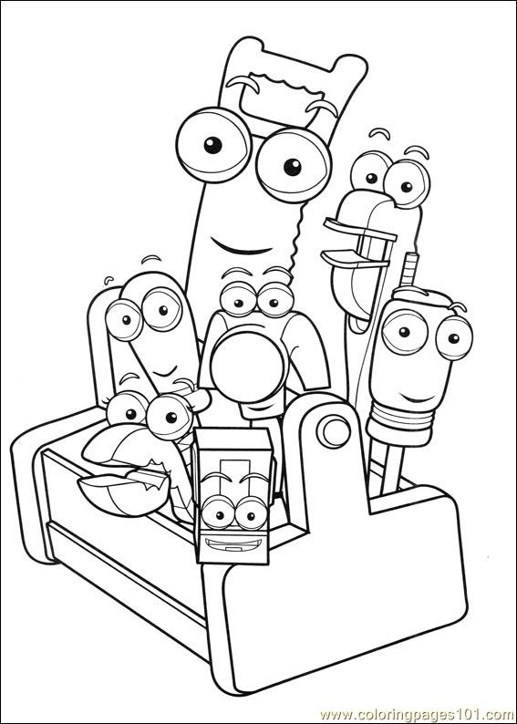 Handy Manny 26 Coloring Page