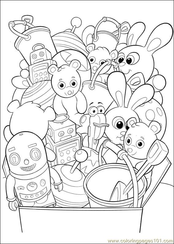 handy manny 27 coloring page