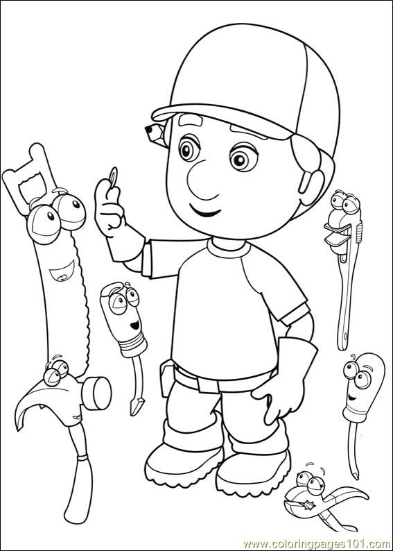 Handy Manny 28 Coloring Page