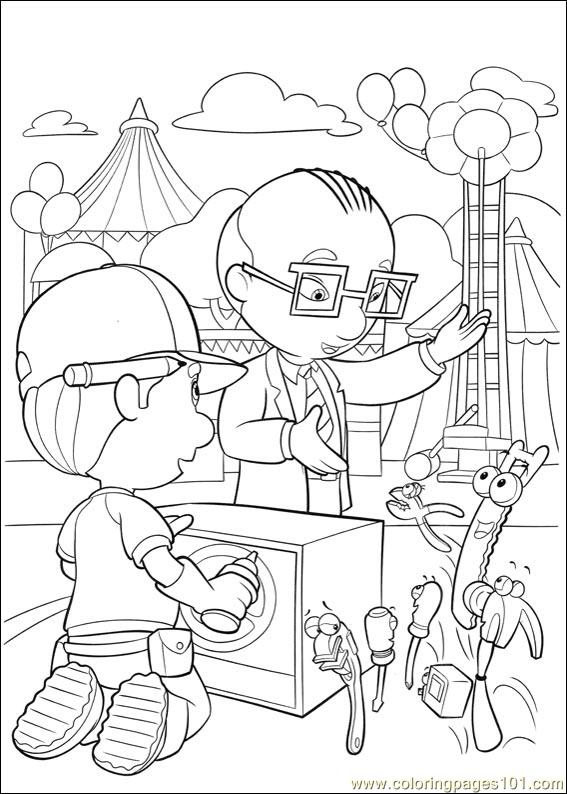 Handy Manny 34 Coloring Page