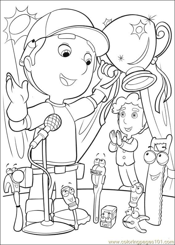 Handy Manny 37 Coloring Page Free Handy Manny Coloring Pages Handy Manny Coloring Pages