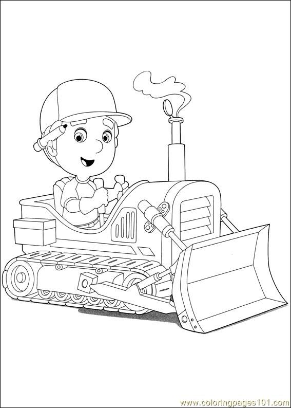 Handy Manny 43 Coloring Page