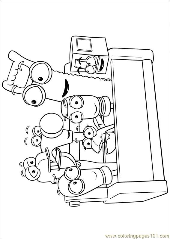 handy manny 45 coloring page - Handy Manny Colouring Pages