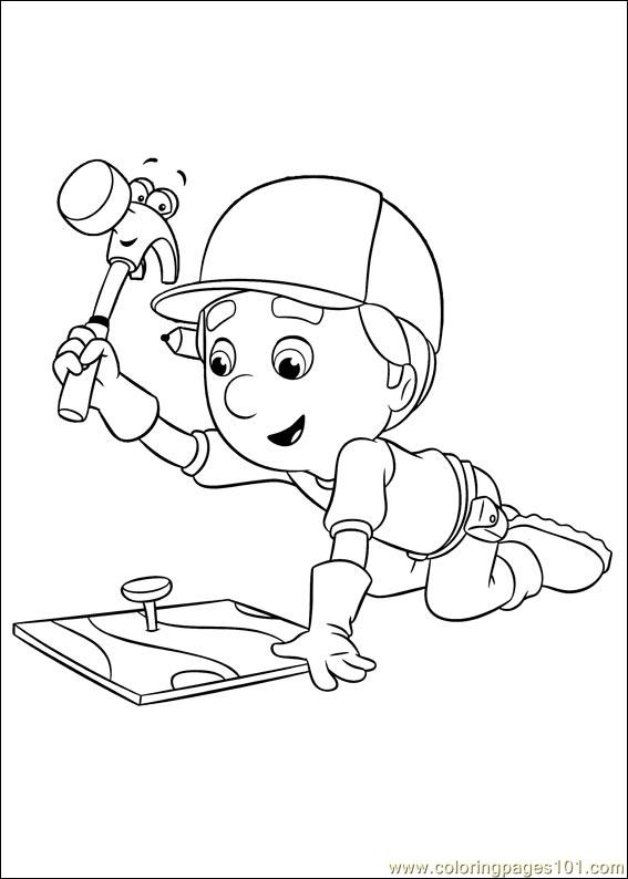 Handy Manny 49 Coloring Page