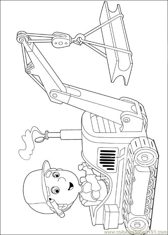 Handy Manny 50 Coloring Page