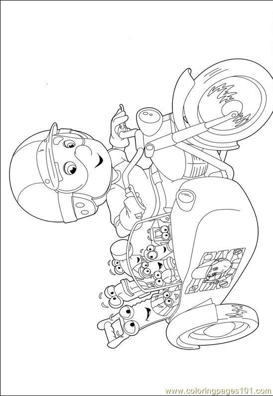 Handy Manny Coloring Pages 002 Coloring Page Free Handy Manny