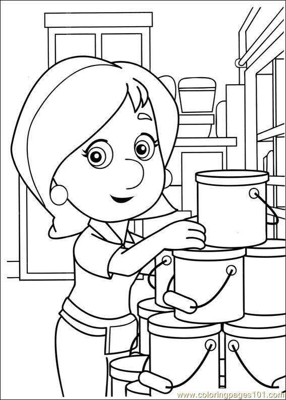 Handy Manny Coloring Pages 006 Page