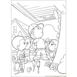 Handy Manny 30 Free Coloring Page for Kids