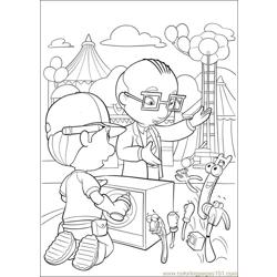 Handy Manny 34 Free Coloring Page for Kids