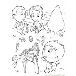 Handy Manny 35 Free Coloring Page for Kids