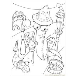 Handy Manny 38 Free Coloring Page for Kids