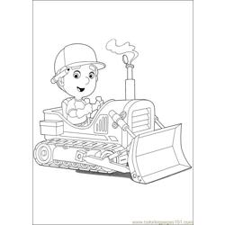 Handy Manny 43 Free Coloring Page for Kids
