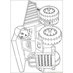 Handy Manny 46 Free Coloring Page for Kids