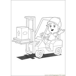 Handy Manny 48 Free Coloring Page for Kids