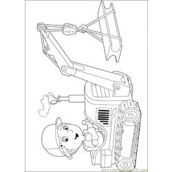 Handy Manny 50 Free Coloring Page for Kids
