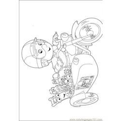 Handy Manny Coloring Pages 002 Free Coloring Page for Kids
