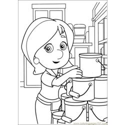 Handy Manny Coloring Pages 006 Free Coloring Page for Kids