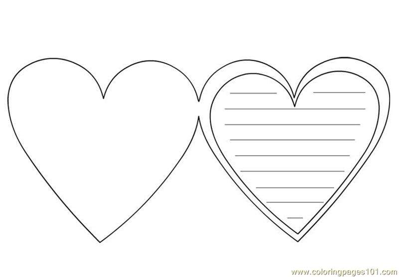 Hearts Coloring Page Free Heart Coloring Pages