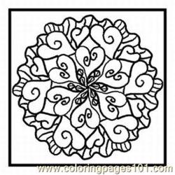 Heart10 Med coloring page