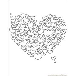 Heart17 coloring page