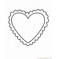 Heart 19 Lrg coloring page