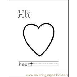 Heart1 coloring page