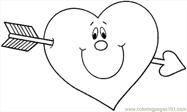 Valentine 180 Coloring Page
