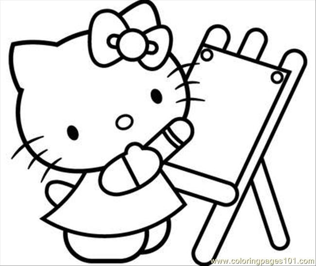 Hellokitty18 Coloring Page