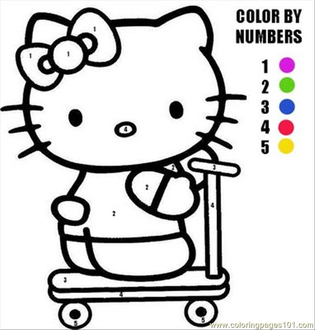 Hellokitty7 Coloring Page