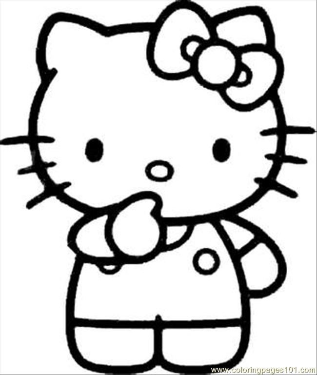 Kitty(25) Coloring Page
