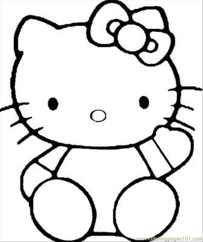 Kitty2b(21) Coloring Page