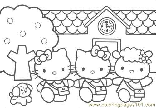 Kitty (1) Coloring Page