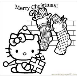 Hellokitty17 Free Coloring Page for Kids