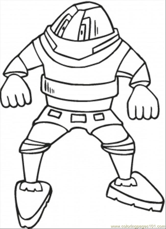 evil robot coloring page  free hitech coloring pages