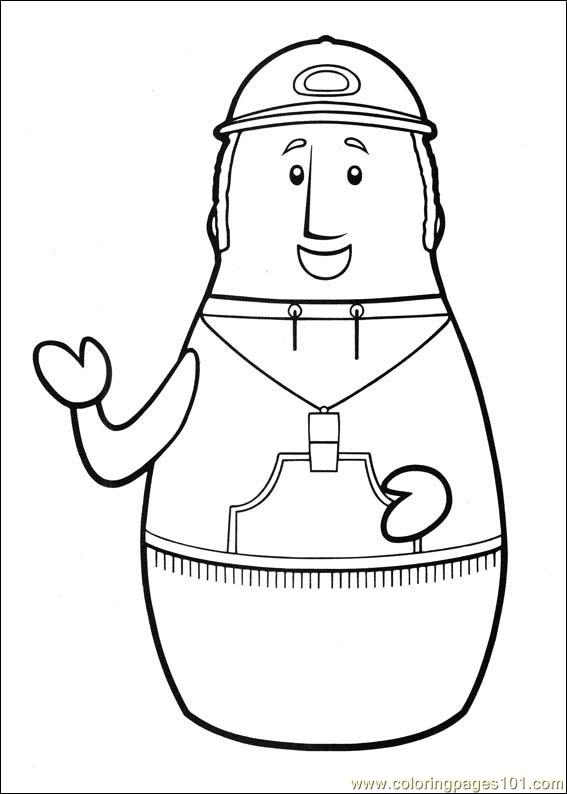Higglytown Heroes 17 Coloring Page