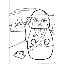 Higglytown heroes 06 coloring page free higglytown for Higglytown heroes coloring pages