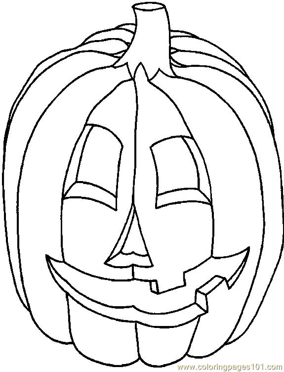 001 Halloween 15 Coloring Page