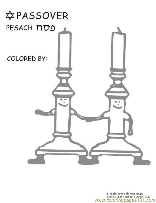 Bitsela Ps Coloring Candles Coloring Page