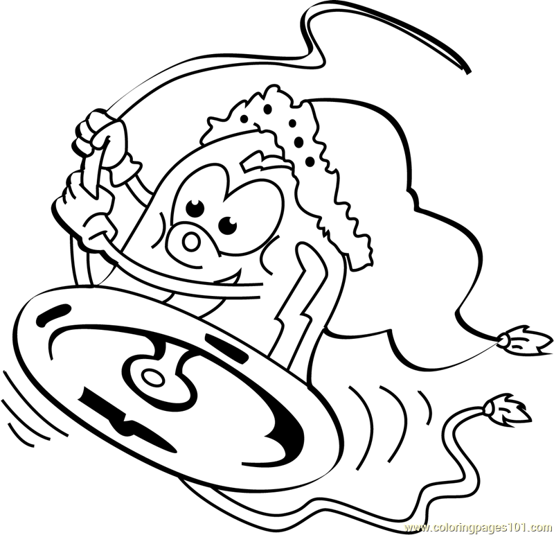 Chrismas Rollercoaster Coloring Page - Free Christmas Cartoons ...