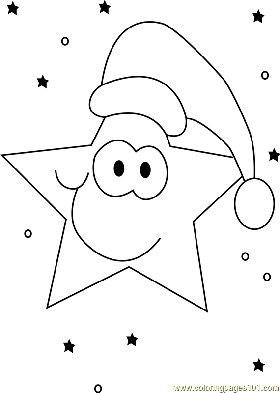 Christmas Star Coloring Page Free Christmas Cartoons Coloring
