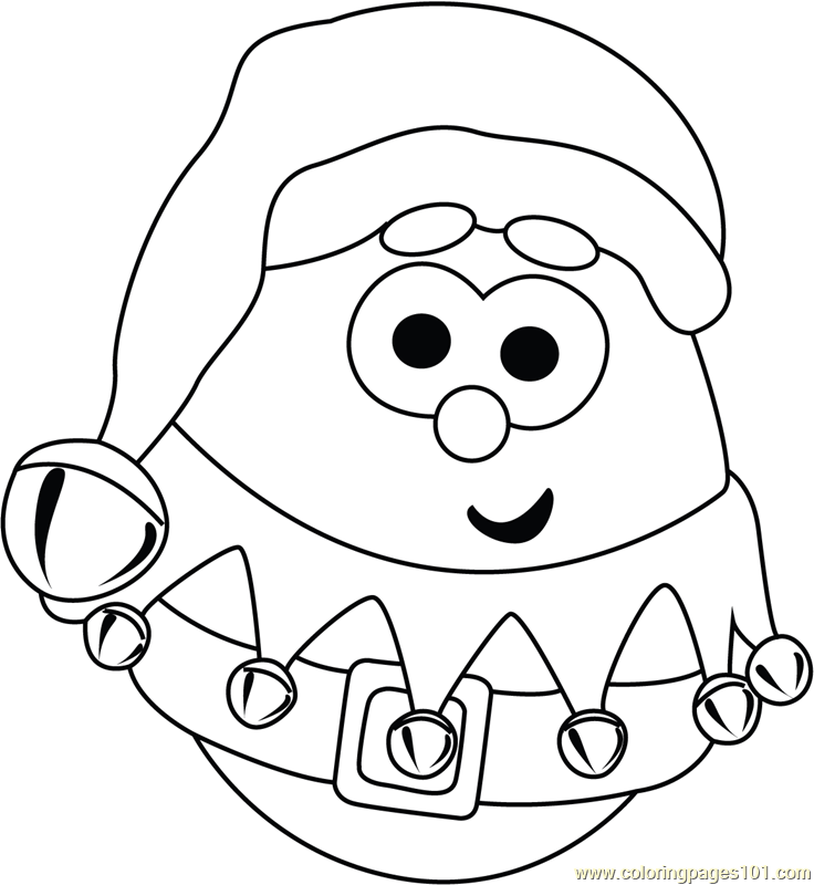 coloring minion pages with santa - photo#5